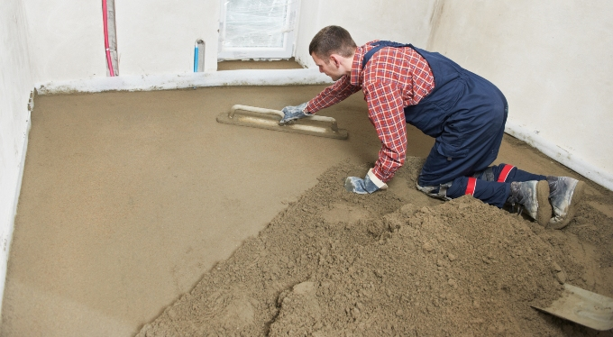 Floor screeders sheffield south yorkshire for Floor screed drying times
